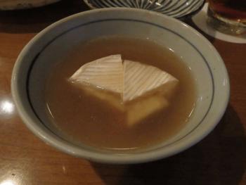 おでんやdenのカマンベールチーズのおでん