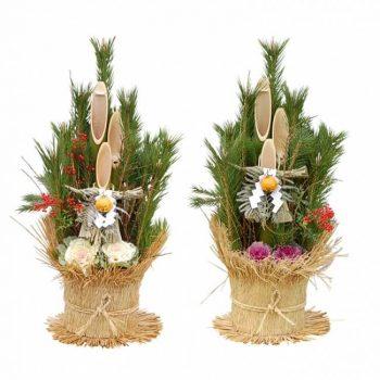 お正月に飾る門松