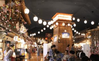 お祭りみたい大江戸温泉物語