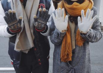 アルプスあづみの公園クリスマスイルミネーションを見に行く時の服装