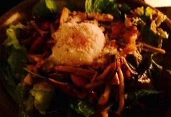 ガッツリ系の料理