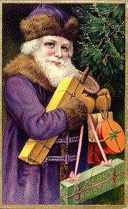 クリスマスカードに描かれた様々なサンタクロース3