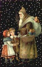 クリスマスカードに描かれた様々なサンタクロース5