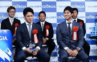ジョージア賞を受賞した大谷翔平選手
