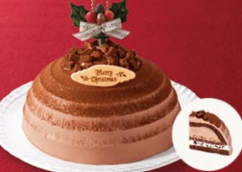 チョコボンブクリスマスケーキ