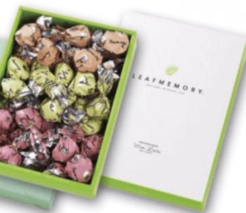 チョコレートハウスリーフメモリー箱入れ