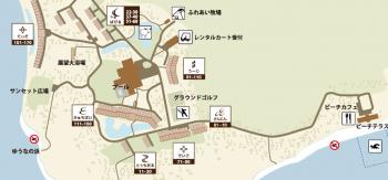 ホテル内地図がこちら