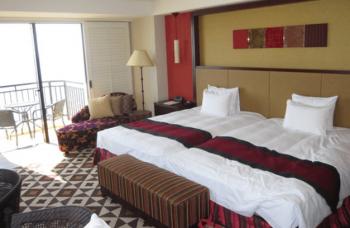 ホテル日航アリビラ部屋きれい