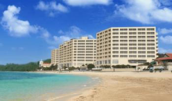 リザンシーパークホテル谷茶ベイ砂浜きれい