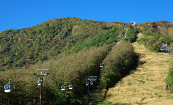 ロープウェイ紅葉安達太良山