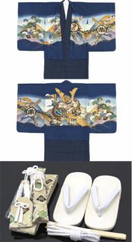 七五三の着物や羽織や小物のセット