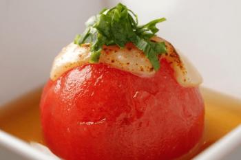 京都まろまろのおでんの具のトマト