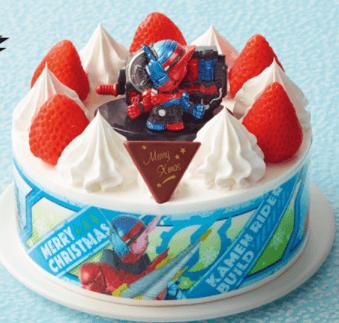 仮面ライダービルドケーキ