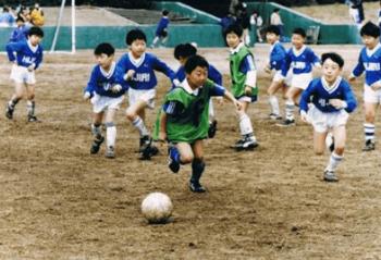 倉田秋選手の少年時代