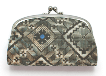 大島紬の財布