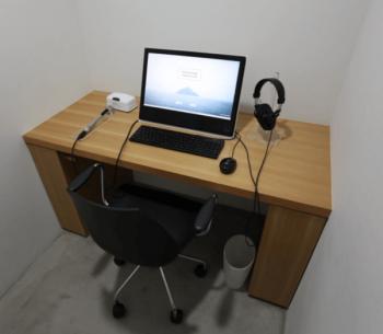 心臓音のアーカイブのレコーディングルーム