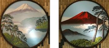 日本初円形の絵