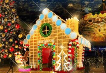 東京ドームシティお菓子の家