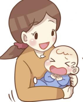 母親妹子供