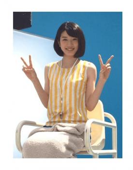 永野芽郁黄色洋服