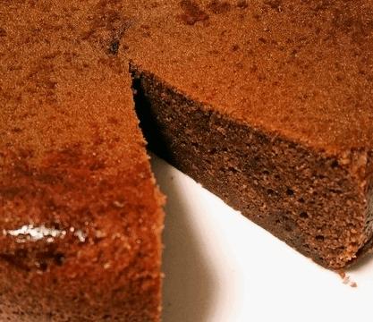 炊飯器チョコケーキ3