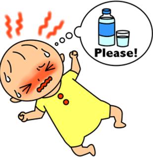 熱中症赤ちゃんなりやすい