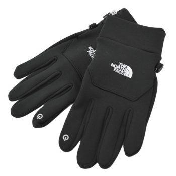 男子高校生に人気のノースフェイスの手袋