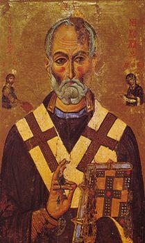 祭服を着た聖ニコラス