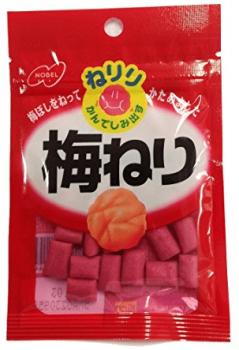 秋山眞緒の好物の梅のお菓子