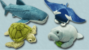 美ら海水族館ぬいぐるみたちオリジナル