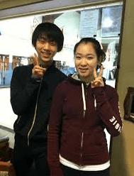 羽生結弦&日本人女性