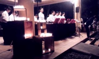 軽井沢高原教会の音楽礼拝