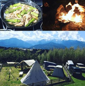 長野県でグランピングにおすすめのいなかの風キャンプ場