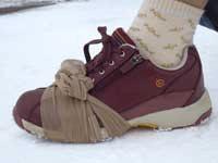 靴とパンスト