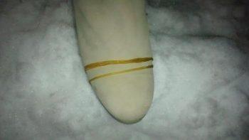 靴と輪ゴム