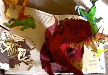 飛び出す絵本恐竜時代ステキ