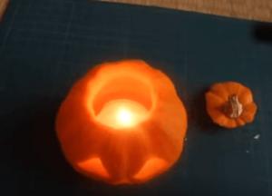 ハロウィンかぼちゃランタン作り方飾り種類くり抜き方21