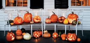 ハロウィンかぼちゃランタン作り方飾り種類くり抜き方27
