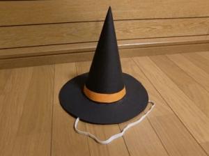 100均ハロウィン子供魔女9