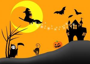 100均子供ハロウィン仮装デビル黒猫
