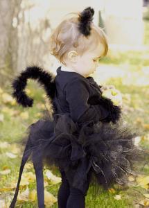 ハロウィン仮装黒猫猫耳49