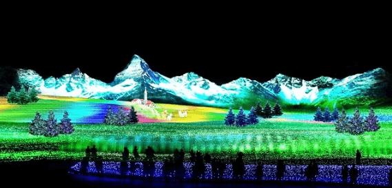 なばなの里イルミネーション2016点灯時間2