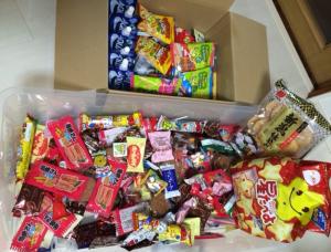 クリスマスお菓子争奪戦ゲーム