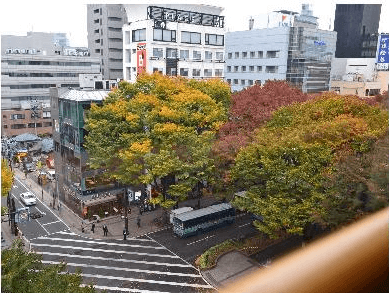 仙台光のページェント2016ホテル見える仙台リッチホテル国分町