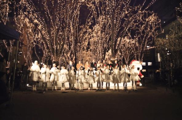 仙台光のページェント2016点灯式