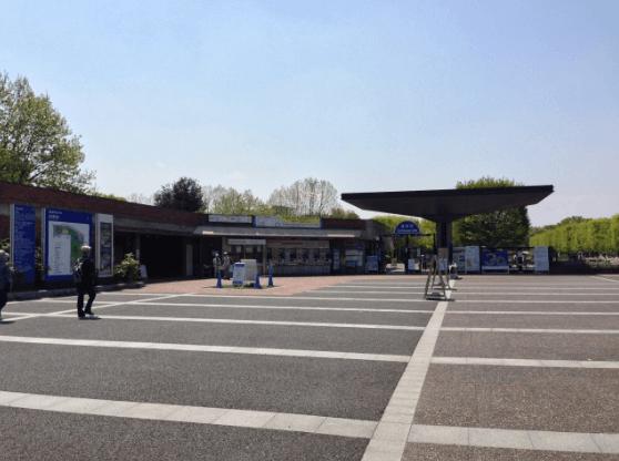 昭和記念公園イルミネーション2016混雑状況立川口駐車場2