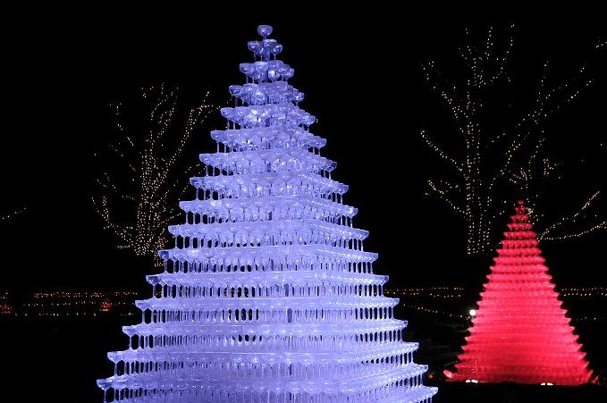 全国クリスマスイルミネーションランキング2016昭和記念公園イルミネーション