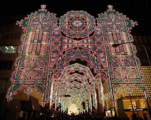 全国クリスマスイルミネーション2016ルミナリエ