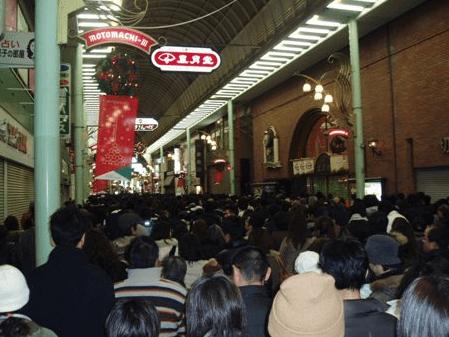 神戸ルミナリエ2016最寄り駅開催場所元町駅混雑