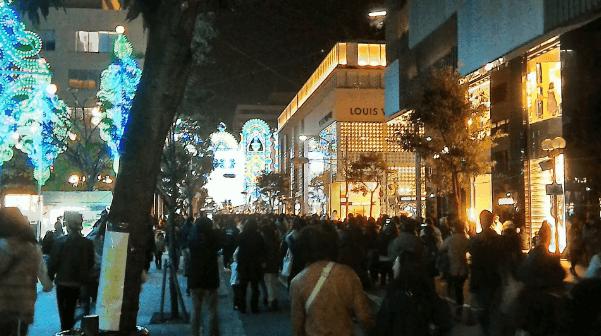 神戸ルミナリエ2016混雑予想元町駅